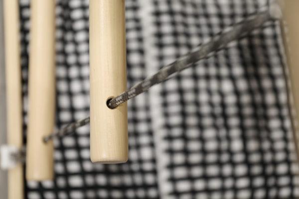 Bunkka on tilaa säästävä perinteistä matalampi kaappivuode