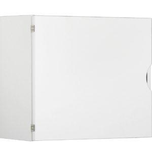 Bunkka-yläkaappi on melamiinipinnoitteista kalustelevyä ABS-reunanauhoilla