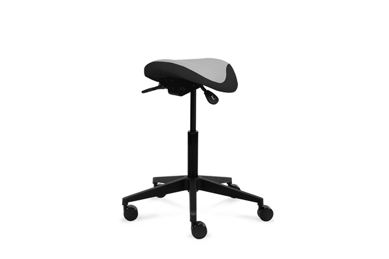 Vindi Basic -satulatuolissa on säädettävä istuinkorkeus ja istuinkulma