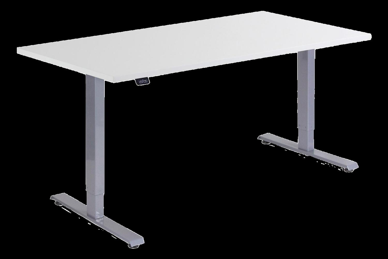 Kätevän kokoinen sähköpöytä kotikonttorille tai harrastushuoneeseen